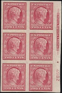 368 Mint,OG,NH... Plate Block of 6... SCV $390.00