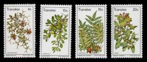 Transkei 28-31 MNH Flowers, Berries, Edible Fruits