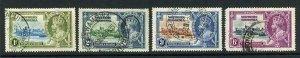 Northern Rhodesia SG18/21 1935 Silver Jubilee Set Used