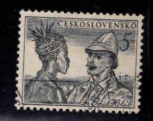Czechoslovakia Scott 500 Used key stamp