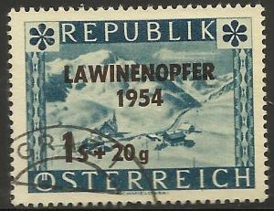 Austria 1954 Semi-postal Scott# B287 Used