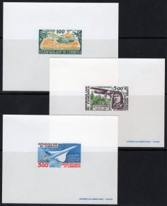 Cameroun 1977 Sc#C248/C250a CONCORDE/AVIATION/PIONNERS 3 DELUXE S/S MNH