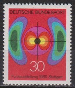 Germany #1005 MNH VF (ST433)
