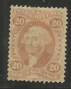 UNITED STATES  R41C  USED,  PERF,  FOREIGN EXCHANGE,  REVENUE STAMP