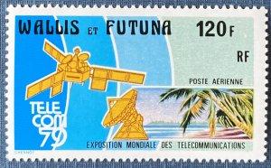 Wallis and Futuna Islands C97 MNH Telecommunications (SCV $4.50)