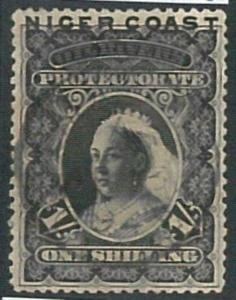 70659  -  NIGER COAST  - STAMPS: Stanley Gibbons #  90  Perf 15  - Finely USED