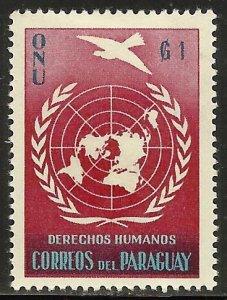Paraguay 1960 Scott# 565 MH
