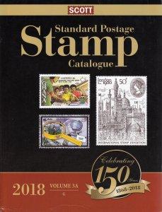 2018 Scott Standard Postage Stamp Catalogue - Volume 3A & 3B