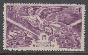 French West Africa C4 mint