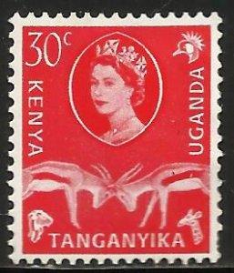 Kenya, Uganda & Tanzania 1960 Scott# 125 MH