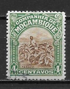 Mozambique Company 117 4c Tobacco Field single MH