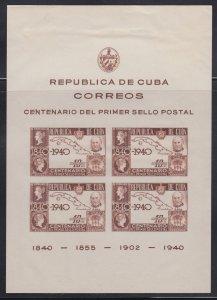 Cuba    # c33  s/s    mnh (md)   cat $27.50