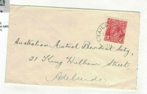 APH1497) Australia 1931 2d Red KGV Die III Small Cover