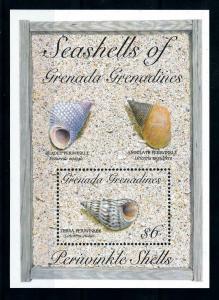 [99665] Grenada Grenadines 1993 Marine Life Sea shells Souvenir Sheet MNH