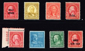 US STAMP 1920 -30 MINT STAMPS COLLECTION LOT #WM1