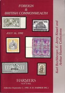 HR Harmer: Sale # 2882  -  Foreign & British Commonwealth...