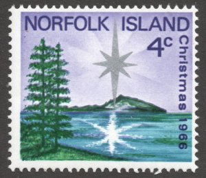 Norfolk Island (1966) - Scott # 99,   MNH
