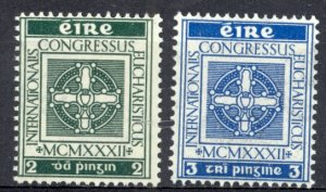 Ireland Sc# 85-86 MNH 1932 Cross of Cong & Chalice
