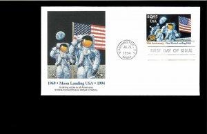 1994 FDC $9.95  Moon Landing Washington DC