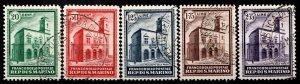 San Marino 1932 S.G. 174-178 used (1359)