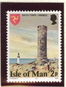 Isle of Man Scott 113a MNH** perf 14.5 variety