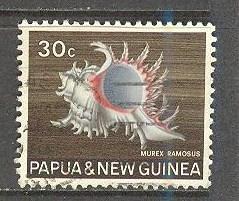 PAPUA NEW GUINEA Sc# 275 USED FVF Sea Shell
