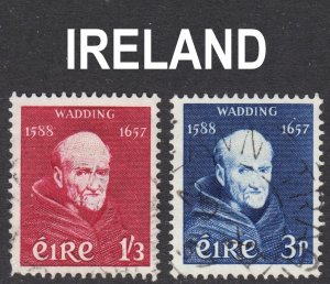 Ireland Scott 163-64  complete set F to VF used.