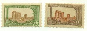 TUNISIA #43-4, Mint Hinged, Scott $15.75
