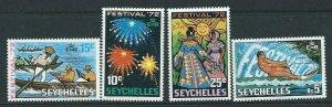 SEYCHELLES SG315/8 1972 FESTIVALS MNH