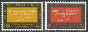 Netherlands # B407-08   ICEM   (2) Mint NH