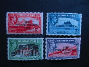 Gibraltar #127-30 Mint Hinged- (JB9) WDWPhilatelic