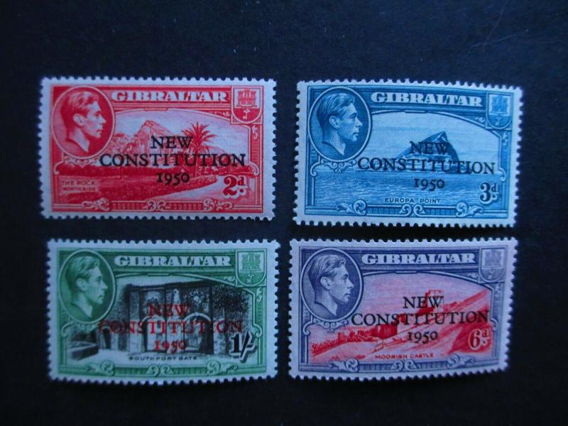 Gibraltar #127-30 Mint Hinged- (JB9) WDWPhilatelic