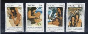 Nauru Scott 372-375 Legend of EIOYEPIANG! MNH!