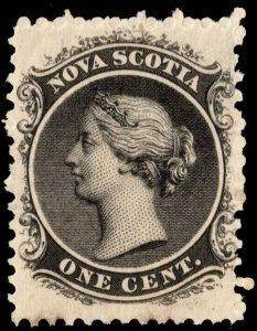 Nova Scotia Scott 8 Unused hinged.