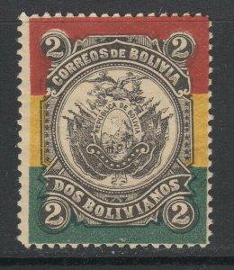 Bolivia, Scott 54, MHR