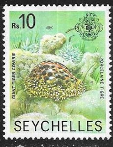 SEYCHELLES #401 10r  Marine life (MLH) CV$3.75
