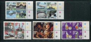 Barbuda #318-21 MNH