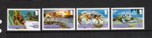 CRABS - British Indian Ocean Territory #286-289  MNH