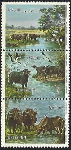 Brazil #1942 MNH Strip of 3