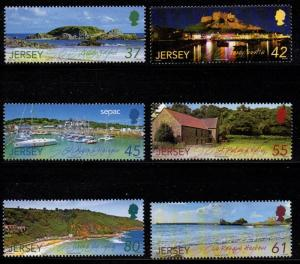 Jersey Sc 1396-1401 2009 Scenic Views stamp set mint NH