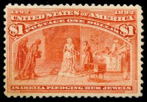 momen: US Stamps #241 Mint OG VF