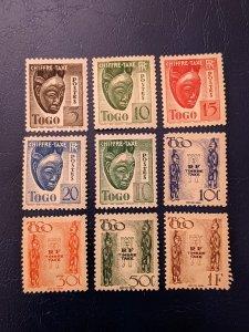 Togo J22-J25,J31B,J32-J35 VF-XFMH, CV $2.75