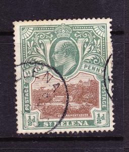 ST HELENA 1903  1/2d  KEVII  FU  SG 55