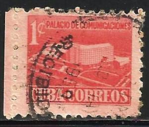 Cuba 1957 Postal Tax Scott# RA34 Used