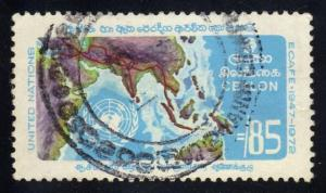 Ceylon #469 ECAFE, used (3.25)