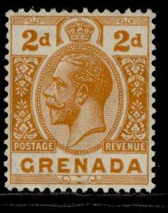 GRENADA GV SG116, 2d orange, M MINT.
