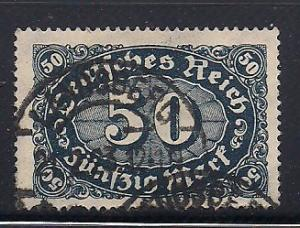 Germany Sc. # 198 Used Inflation Wmk. 126 - L119