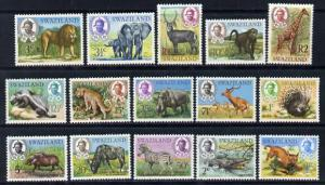 Swaziland 1969 Pictorial definitive set complete - 15 val...