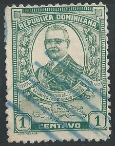 Dominican Republic #250 1c Horacio Vasquez