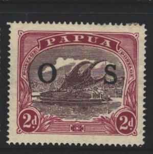 Papua New Guinea Sc#O4 MH